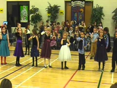 Kids Doing Hokey Pokey video