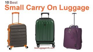 Best Small Carry On Luggage | Ten Best Cheap Small Carry On Travel Luggage Sale.