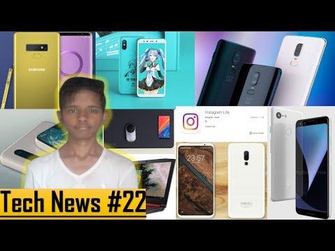 Tech News #22 - Xiaomi Mi 6X Hatsune Miku, Meizu X8, Acer Nitro 5, OnePlus 2019, Pixel 3, Mousepad