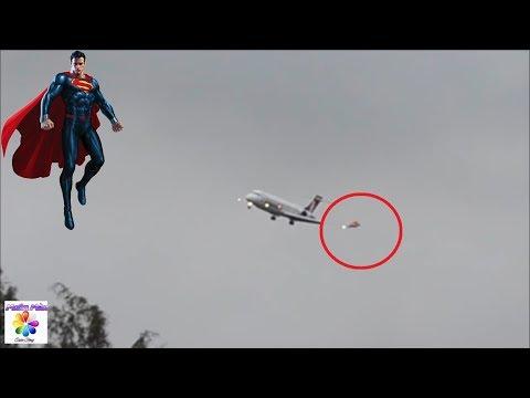 5 Lần Superman Xuất Hiện Ngoài Đời Thật Được Camera Quay Lại || (5 SUPERMAN Caught on Camera)