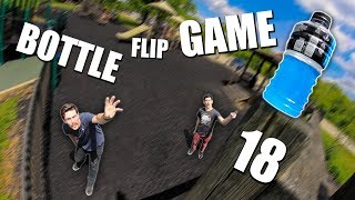 ULTIMATE GAME of BOTTLE FLIP! | Round 18