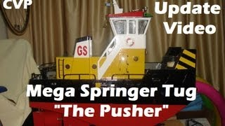 CVP - Mega Rc Springer Tug The Pusher [Update Video]