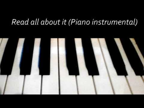 Read all about it part 3 (Piano Guitar karaoke/instrumental) - Emeli Sande