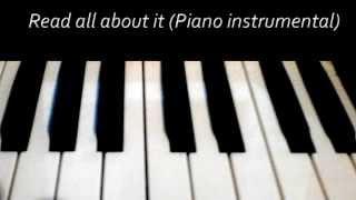 Read all about it part 3 (Piano Guitar karaoke/instrumental) - Emeli Sande