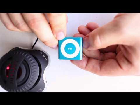 iPod Shuffle Tutorial - Walkthrough of the Waterfi Waterproofed Mp3 Player