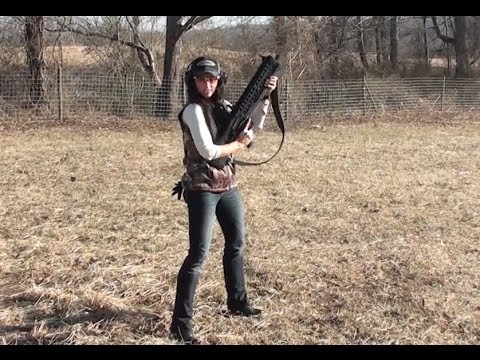 The UTAS UTS 15 12 Gauge Shotgun with Chris Heben and Nicole Mcclain