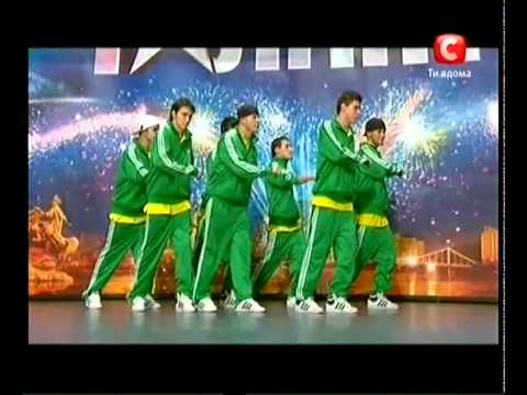 «Україна має талант-3» Львов - Южный фронт (хип-хоп)
