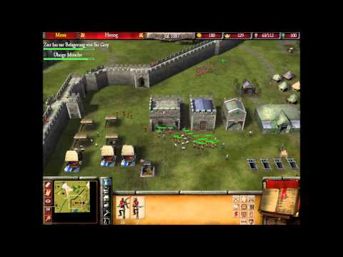 Stronghold Folge 009 : 2ter Kampf (lets play german)