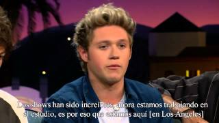 One Direction sobre Zayn Malik - The Late Late Show