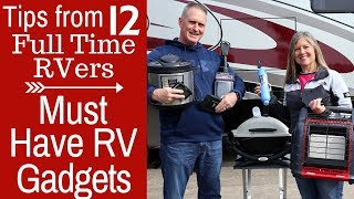 Top RV Must Have Gadgets - Full Time RV