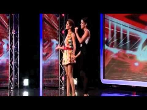 Cheryl Cole helps woman sing