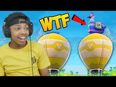 FUNNIEST LLAMA SPAWN! - Fortnite Funny Fails and WTF Moments! #141 (Daily Moments) - Reaction
