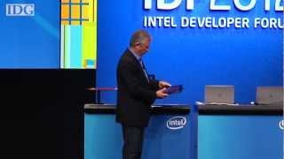 IDF 2012_ Intel demos Haswell, new technology on day one of IDF SF 2012