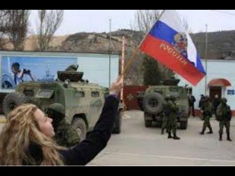 Crimea Votes Referendum To Join Russia - Leaves Unkrain ~ US & EU impose Sanctions (2014)