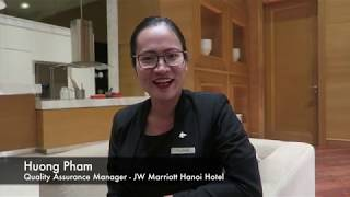 Award of Excellence - Pham Thi Huong JW Marriott Hanoi