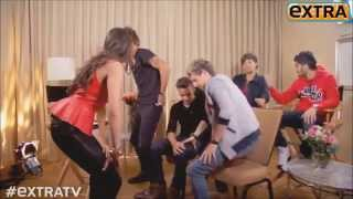 One Direction Video - one direction interview , harry twerking