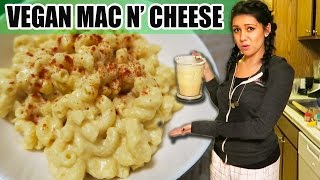 "VEGAN MAC AND ""CHEESE""?!?! DOES IT WORK?! - #TastyTuesday"