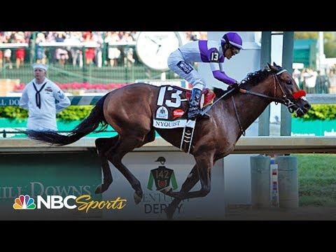 Nyquist wins 2016 Kentucky Derby, remains unbeaten