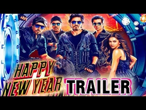 Happy New Year Official Trailer ft Shahrukh Khan & Deepika Padukone RELEASES