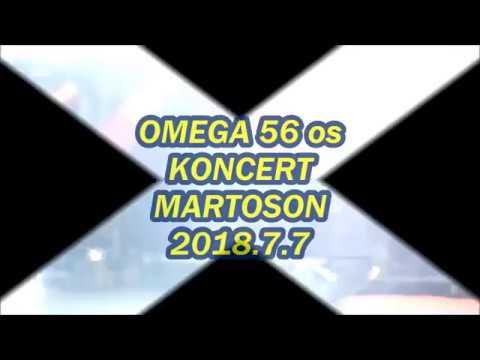 OMEGA KONCERT MARTOS 2018.7.7