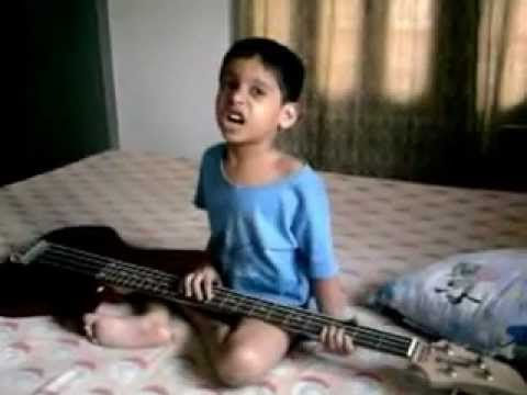 Rock Star Gourav Roy 4years Old (o Nadan Parinday Ghar Aaja) video