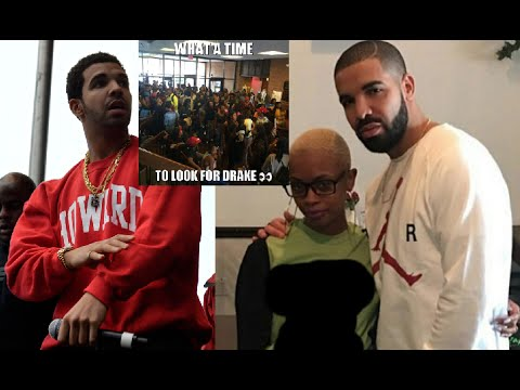 Drake Causes a Stampede at Howard University AGAIN Just by Going to the Bookstore.