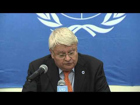 UN-USG Herve Ladsous Press Conference-Central Africa Republic