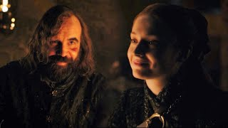 Sansa Stark + Sandor Clegane Reunion | You've changed Little Bird HD - Game of Thrones 8x4