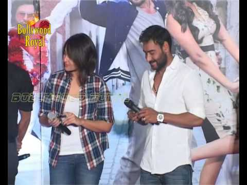 Sonakshi Sinha,Ajay Devgn,Himesh & Prabhudeva Launch Song 'Keeda' of 'Action Jackson'  1
