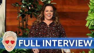 Melissa McCarthy's Full Interview with Ellen