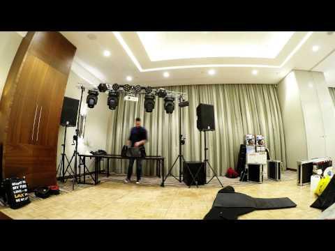 PB-Sound | Mobile DJ Setup 2015 | Time-Lapse GoPro 4 Black, Yamaha DXR 15, My Dmx 2, Piotr Bagiński