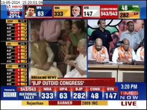 We have won due to Modi's efforts: Rajnath Singh
