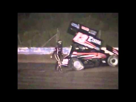 Tony Stewart / Kevin Ward Accident, 1/20th Speed Slow Motion Version