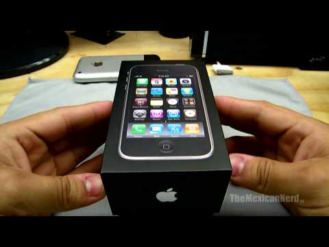 iPhone 3GS Unboxing HD