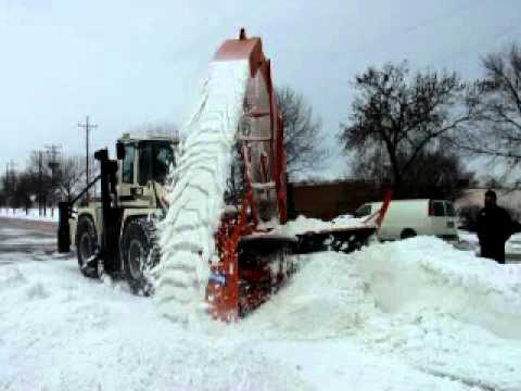 WK-800 LOADER MOUNTED SNOW BLOWER