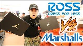 ROSS VS. MARSHALLS!!