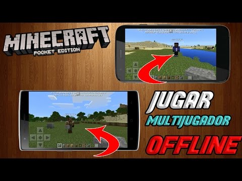 MINECRAFT PE 1.5 COMO JUGAR MULTIJUGADOR LOCAL SIN INTERNET