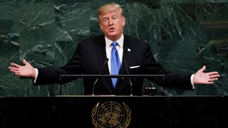 Trump's combative first speech to the UN general assembly