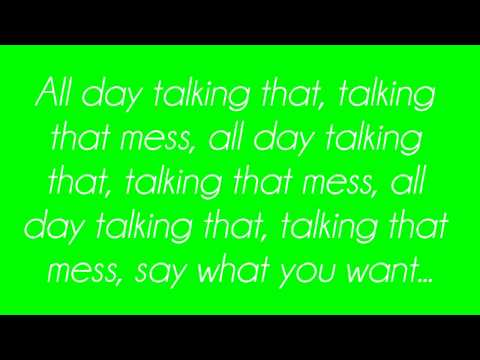 Cher Lloyd - Talkin' That (Lyrics)