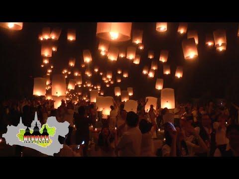 Download INDAHNYA RIBUAN LAMPION TERBANG MENGHIASI CANDI BOROBUDUR Mp4 baru