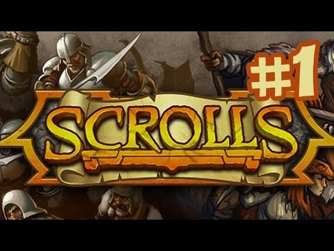 Scrolls Gameplay Walkthrough Part 1 - First Look (By Mojang) Beta