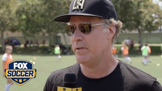 Will Ferrell riffs on LAFC, Lionel Messi and Cristiano Ronaldo