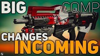 Destiny 2 BIG Competitive Changes, Redrix's Broadsword, & Gambit Rewards