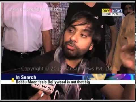 Babbu Maan - Interview - New Punjabi Album Talaash - Latest Punjabi Music News 2013 video