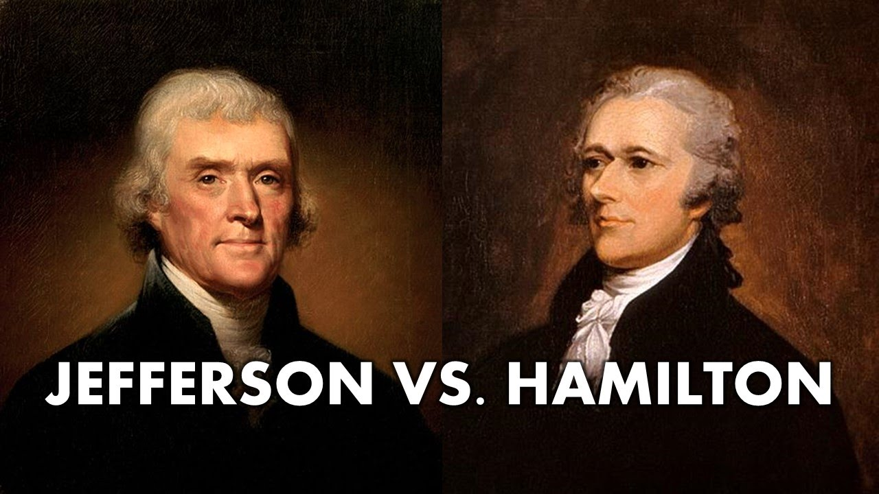 Thomas Jefferson vs alexander hamilton