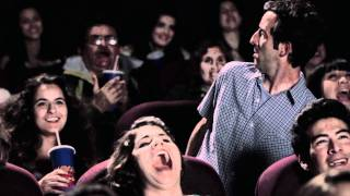 En el cine viendo Los Muppets: La Gota y El Abrigo