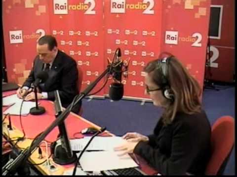 24-01-2013 Silvio Berlusconi intervistato da Barbara Palombelli su Radio Due