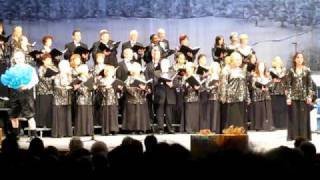 White Christmas Choral Medley (1st half) - Seaway Chorale & Orchestra - December 5, 2009