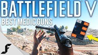 Battlefield 5 Best Medic Guns and Skill Trees!