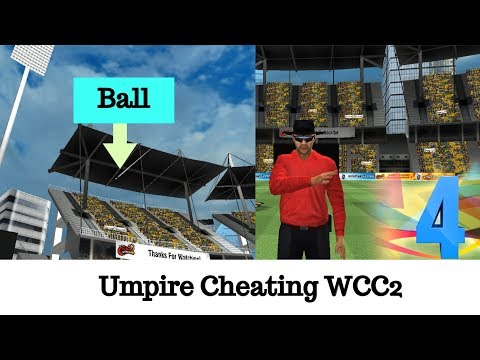 Umpire Cheating In WCC2 - Wrong Decision WCC2 - Spot Fixing In WCC2